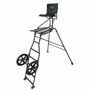 Hawk Transformer 9' Hunt-Pod Stand and Cart