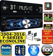 2004-2016 FORD F150/250/350/450/550 BLUETOOTH USB AUX CAR RADIO STEREO PACKAGE
