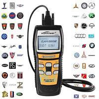 KW825 EOBD CAN OBDII OBD2 Car Code Reader Diagnostic Scan Tool Fault Scanner @KJ