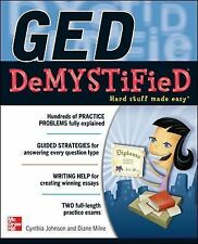GED DeMYSTiFieD, Johnson, Cynthia, Good Book