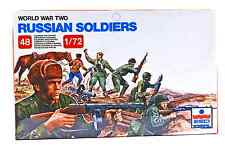 ESCI ERTL #203 - 1/72 scale World War Two Russian Soldiers - mint boxed set