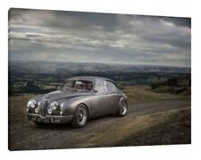 MK2 Jaguar - 30x20 Inch Canvas Framed Picture Print Wall Art Mark Two