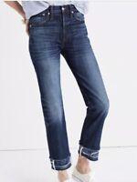New Rivet & Thread Madewell 26x27 Double Hem Boyjean Jeans 28 High Rise Selvedge