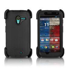 OtterBox Defender Motorola MOTO X Case & Holster Black Cover OEM Original