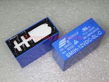 2PCS 8pins SMIH-12VDC-SL-C DC 12V 16A 250VAC Power Relay