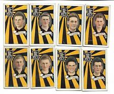 RICHMOND TIGERS 1933 STRIPED ALLENS VFL FOOTBALL CARDS