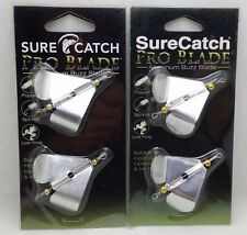 SureCatch Aluminium Pro Blde Buzz Blade Propeller Single Large 2packs
