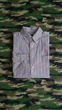Jos A Bank Executive Collection Mens Casual Long Sleeve Button Front Shirt Sz L