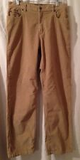 Womens Eddie Bauer Corduroy Pants Natural Fit Size 12 Tan