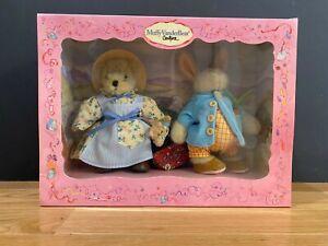 Muffy VanderBear Easter Peter Rabbit Beatrix Potter Rare Limited Edition 2002