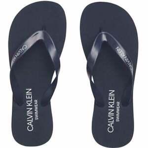 Calvin Klein Flip Flop Sandals, Black Iris