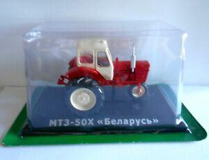 "MODELLINO TRATTORE MTZ-50H ""Belarus""1962-1985 - 1/43 #067"