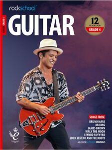 Rockschool Guitar 2018-2024 grade 4 Book/Audio