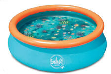 QUICK Up Pool 3D-Pool 3,05 x 0,76 m Kinder Schwimmbad Planschbecken Kinderpool