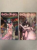 Gothic Nights A Tale Of Scarlet Passion 1 & 2 Complete Set Tim Vigil