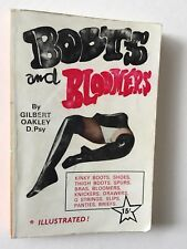 Boots And Bloomers by Oakley. RARE Book Kinky Erotic Fetish Title. Bras Knickers