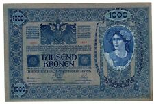 Autriche HONGRIE AUSTRIA HUNGARY Billet 1000 Kronen 1902 (1919 ) P59 BON ETAT