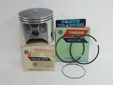 NOS Genuine Yamaha .75 Over Bore Piston And Rings Top End DT400 DT 400 1977 1978