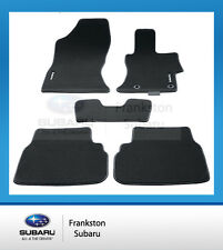 NEW GENUINE SUBARU XV CARPET FLOOR MATS FULL SET MY18 MODELS J501AFL000