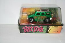 Auto World Hummer H2 Rat Fink Ho Scale Electric Slot Car New in sealed Case