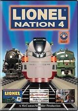 Lionel Nation No 4 DVD train video NEW Sealed