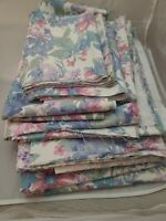 Huge Lot of 18 + Yards Remnants Peter Pan Fabrics Floral Print Heavy Cotton