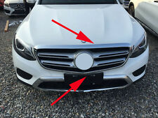 Front Grilles Molding Cover Trim for 2016-2017 Mercedes-Benz GLC Class GLC300