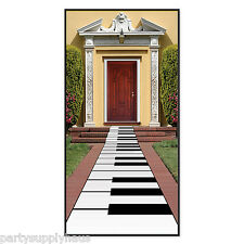 80's Party KEYBOARD Piano FLOOR RUNNER Party Decoration TALENT SHOW Music Award