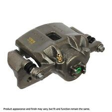 Disc Brake Caliper-Friction Choice Caliper w/Bracket Front Left Cardone Reman