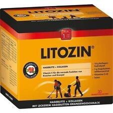 LITOZIN Hagebutte+Kollagen Trinkfläschchen 30X25 ml