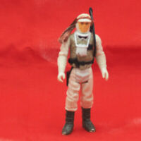 Vintage Star Wars Luke Skywalker Hoth Action Figure w/ Weapon