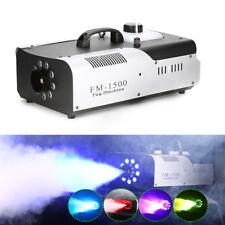 1500W Máquina de Humo Niebla de Larga Distancia Discoteca DJ Fiesta De Halloween