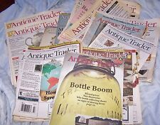 Lot of 25 Antique Trader Roadshow Magazine Back Issues Collectibles Vintage Book