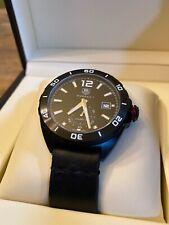 TAG HEUER Formula 1 Wrist Watch WAZ2112.FT8023 Black Automatic For Men's