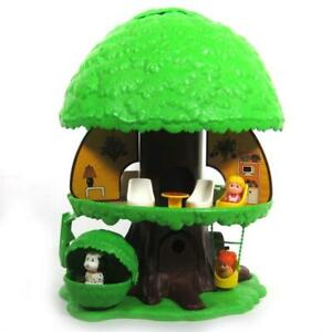 Kenner Tree Tots Family Tree House and Accessories Vintage 1975