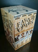 BBC Complete Fawlty Towers Boxed Collection VHS Set VGC