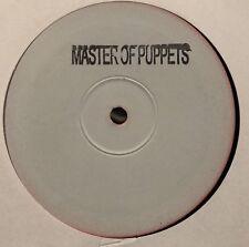 "Metallica Master Of Puppets Dylan Drum & Bass D&B Remix RARE White Label 12"" DJ"