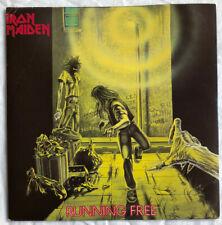 "IRON MAIDEN -Running Free- Original UK 7"" +Card Picture Sleeve (Vinyl Record)"