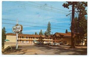 South Lake Tahoe CA Imperial Lodge Postcard ~ California