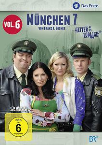 3 DVDs *  MÜNCHEN 7 - STAFFEL 6  -  GIEBEL , KINSEHER # NEU OVP §
