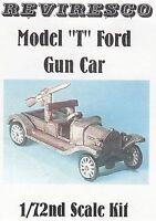 Ford Modell T mit Flugabwehr-MG 1915 - 1. Weltkrieg - Zinnbausatz - 1:72