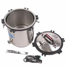 110V 2KW 18L Stainless Steel Steam Autoclave Sterilizer Dental High Pressure GT