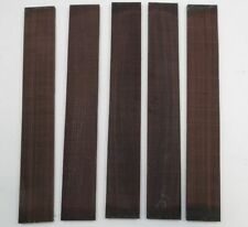 (5) LOT OF 5  GUITAR LUTHIER ROSEWOOD FINGERBOARD BLANK   21 X 2 15/16 X 3/8""