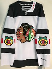 Reebok Premier NHL Jersey Chicago Blackhawks Team White Stadium Series sz S
