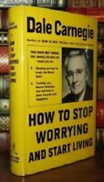 How to Stop Worrying and Start Living Hardcover by Dale Carnegie FREE SHIPPING