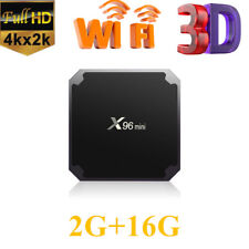 X96 Mini TV Box Android 7.1.2 Amlogic S905W Quad Core WiFi FHD 2G+16G 4K Player