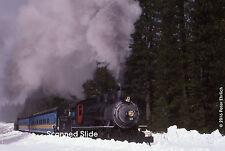 Original Photograph: McCloud River Railroad 25 at Bartle, CA