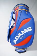 "NEW Adams Golf 9.5"" Staff Cart Bag - 6 Way Divider - Blue Red Yellow RARE!"