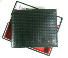 Guess Men's Bifold Front Pocket Wallet RFID Blocking Security Black 31GO130023