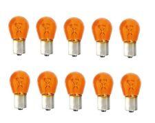 10 BAU15S 12V 21W Blinkerbirne Lampe Gelb Orange Amber P21W keine LED